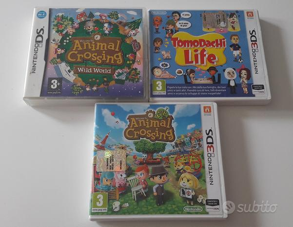 Giochi Nintendo Animal Crossing e Tomodachi Life