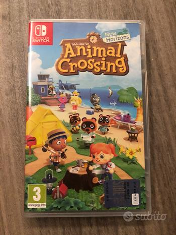 Gioco animal crossing new horizons Nintendo switch