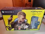 XBox One X 1TB Ed. Cyberpunk sigillata con giochi