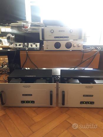 Audio research finali CL120 più pre LS15