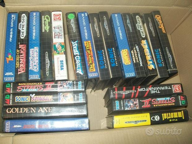 Sega Megadrive, Saturn e Dreamcast, vari giochi