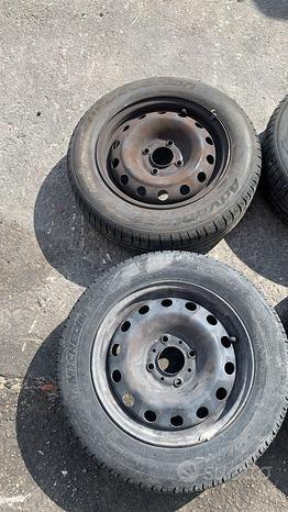 Cerchi in ferro da 14 Citroen C3 dal 2002 al 2009