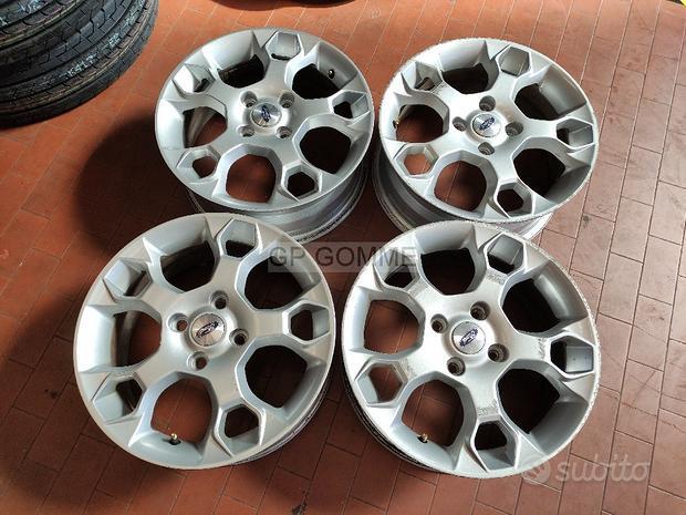 4 Cerchi Lega 16 pollici Ford Fiesta originali b