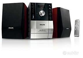 Stereo Micro Hi-Fi Philips MCM204/12