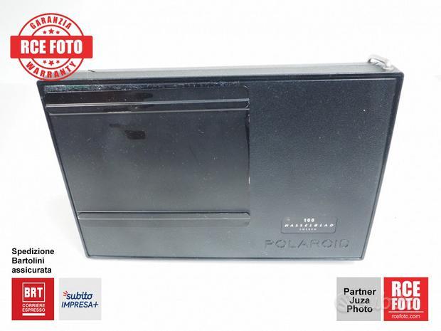 Hasselblad 500 Dorso Polaroid 100 Nero