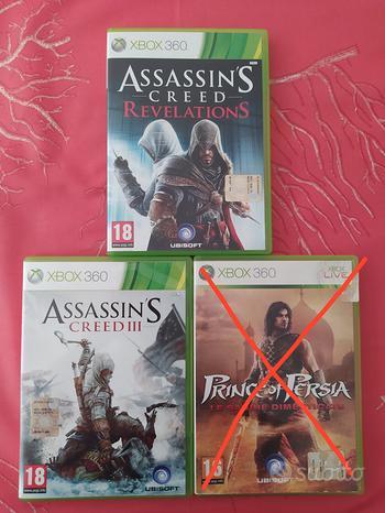 Assassin's Creed 3 e Revelations - Xbox360