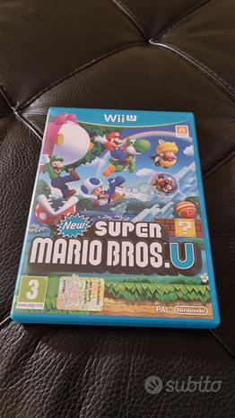 WiiU - Super Mario Bros U (Usato)