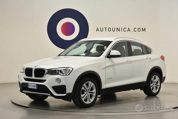 BMW X4 XDRIVE 20D XLINE PELLE NAVI FARI XENON