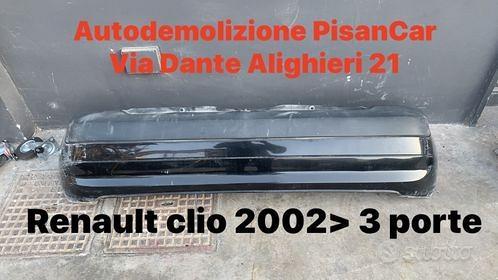 Paraurti posteriore renault clio 2002 3 porte + co