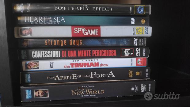 18 film in Bluray e 4 DVD come nuovi