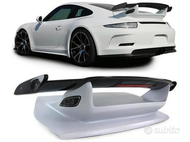 SPOILER ALETTONE PORSCHE 911 GT3 LOOK CARBONIO