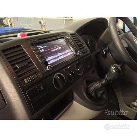 Autoradio navigatore volkswagen t5 touch dvd usb