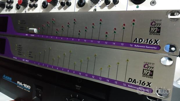 Apogee AD-16X e DA-16X Pro tools HD