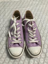 scarpe converse viola