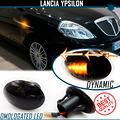 2 Frecce LED Dinamiche Lente Nera Lancia Ypsilon