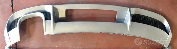 Diffusore posteriore modello S line a doppia uscit