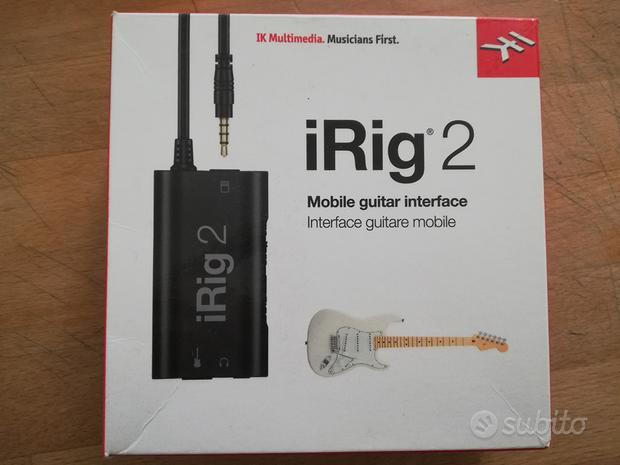 IRig 2 + cavo lightning