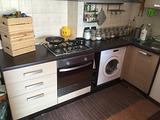 Cucina componibile completa di elettrodomestici