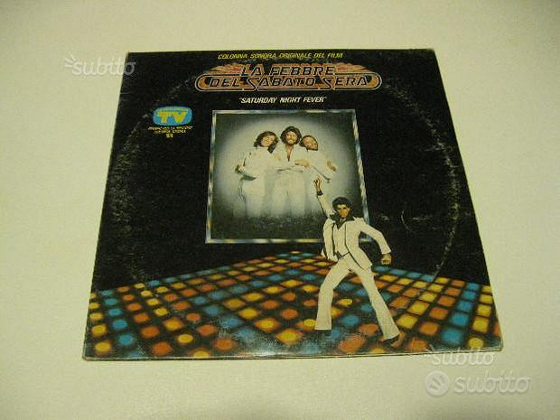 LP Bee Gees Saturday night fever cult disc DLP