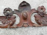 Cornice in legno primi 900 intarsiata