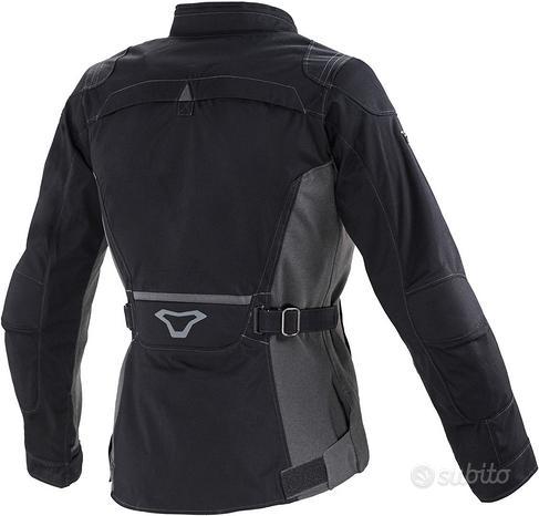 Giacca moto donna macna impala nero turismo XL