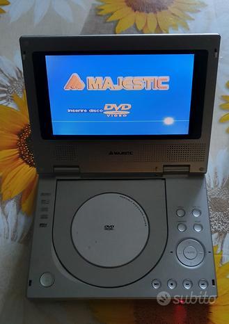 Lettore portatile majestic DVD