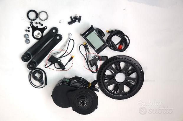 Motore bicicletta batteria