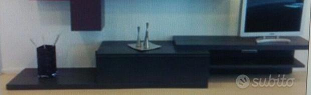 Mobile soggiorno tv componibile attrezzata design