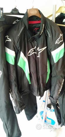 Giubbotto e pantalone moto alpinestars xxl