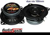 Coppia casse audio altoparlanti per auto 10 cm 100