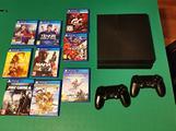 PS4 1Tb 2 Joypad 9 Giochi (NO PS5)