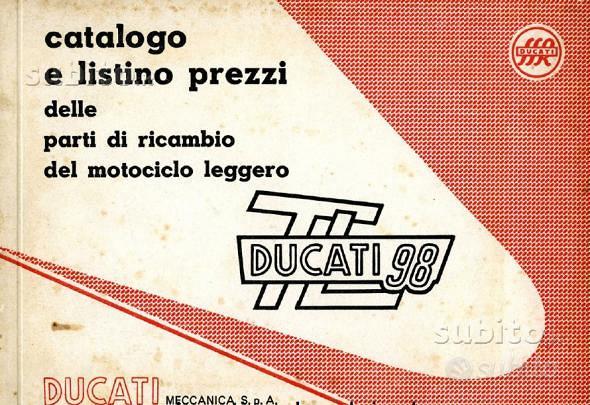 Manuali officina esplosi x Ducati epoca storiche