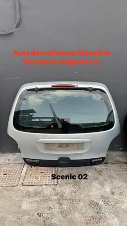 Portellone posteriore renault scenic 2002