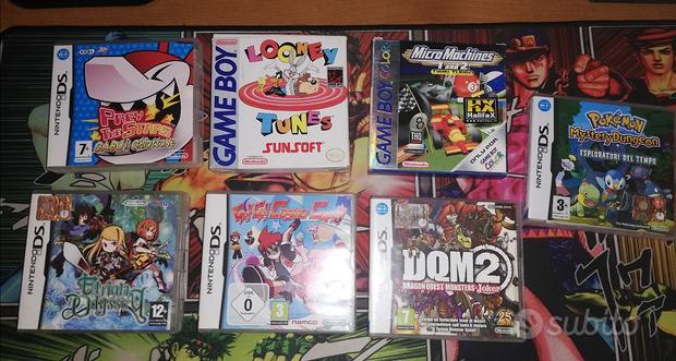 Giochi Nintendo Ds gameboy