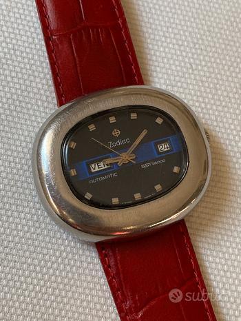 Orologio vintage Zodiac SST 36000 anni 70
