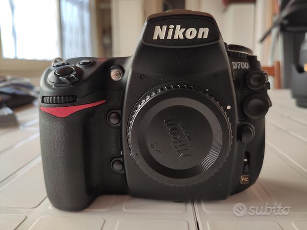 Nikon d700 + battery grip + CF