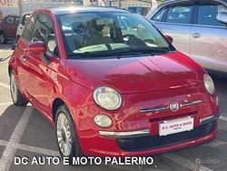 Fiat 500 lounge 1.2 benzina.tettuccio.fine.2010
