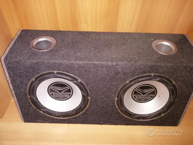 Coppia subwoofer audio design