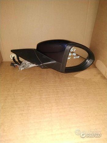 Specchietto retrovisore per vw golf 7 dx