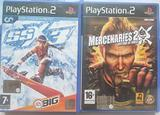 Due giochi PS2 ssx3 e Mercenaries 2