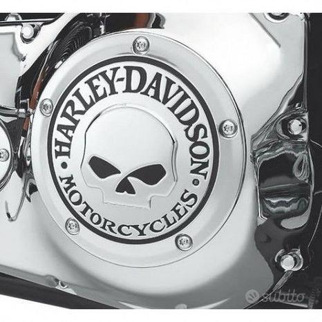 Derby Cover Frizione Skull Originale Harley Davids