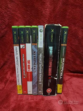 Videogame giochi Xbox microsoft