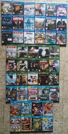Giochi PS4 Xbox One NintendoWii U Switch ps234 360