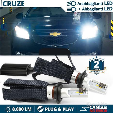 KIT Lampade FULL LED H4 PER CHEVROLET CRUZE CANBUS