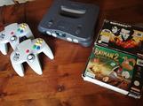 Nintendo 64 con giochi