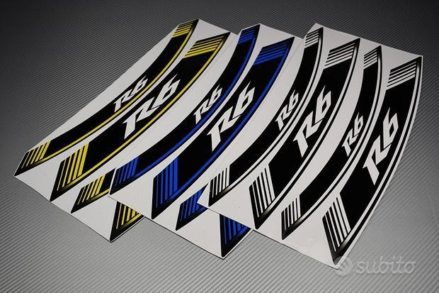 Strisce Adesive per Cerchi - Modello R6