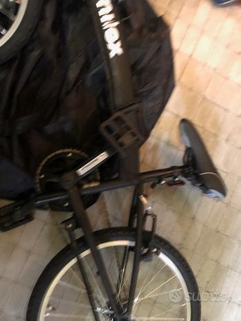 Bicicletta Nilox X0 pieghevole da auto o metro