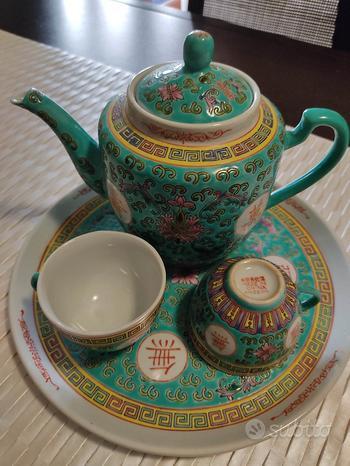 Servizio da tè cinese per due persone