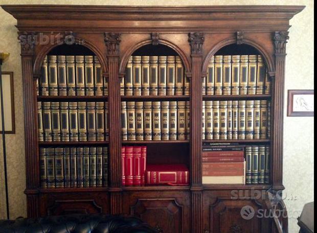 Enciclopedia Treccani completa certificata 76 vol