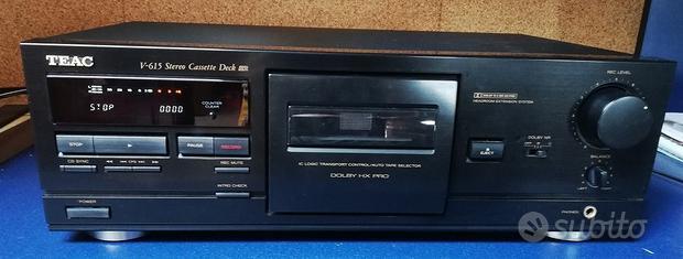 TEAC V-615 cassette deck